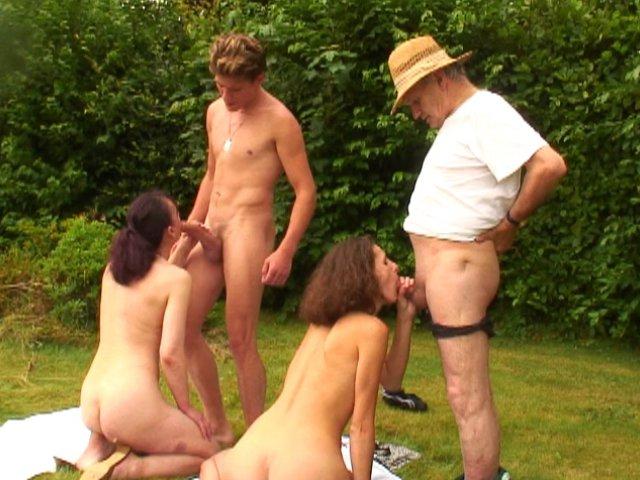 Trio d'enfer Français en vidéo porno